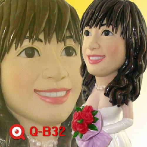 結婚.新郎.新娘 公仔娃娃